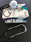 Picture of disposable box with stethoscope